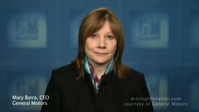 Mary Barra, GM, bankruptcy