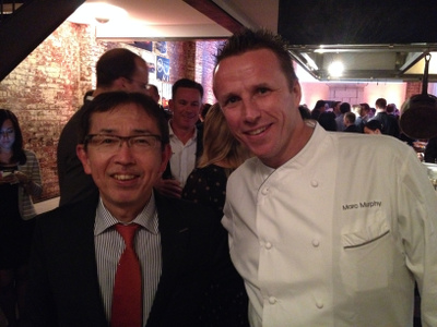 Shiro Nakamura, marc murphy, chopped, celebrity, designer, hunger