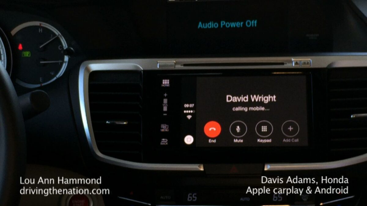 2016 Honda Accord includes Apple CarPlay and Android Auto on Driving the Nation