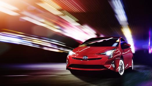2016 Toyota Prius unveil in Las Vegas, Nevada on Driving the Nation