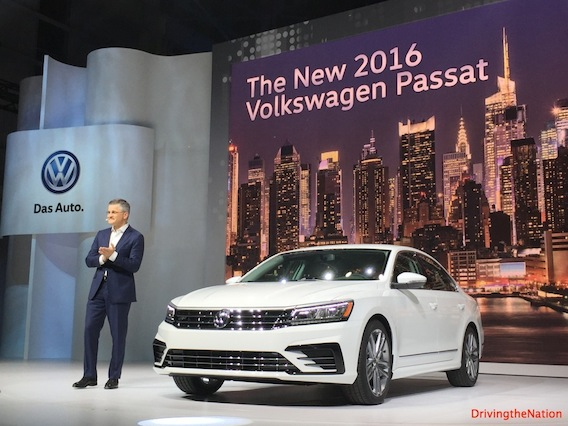 2016 Volkswagen Passat unveil and pricing on Driving the Nation