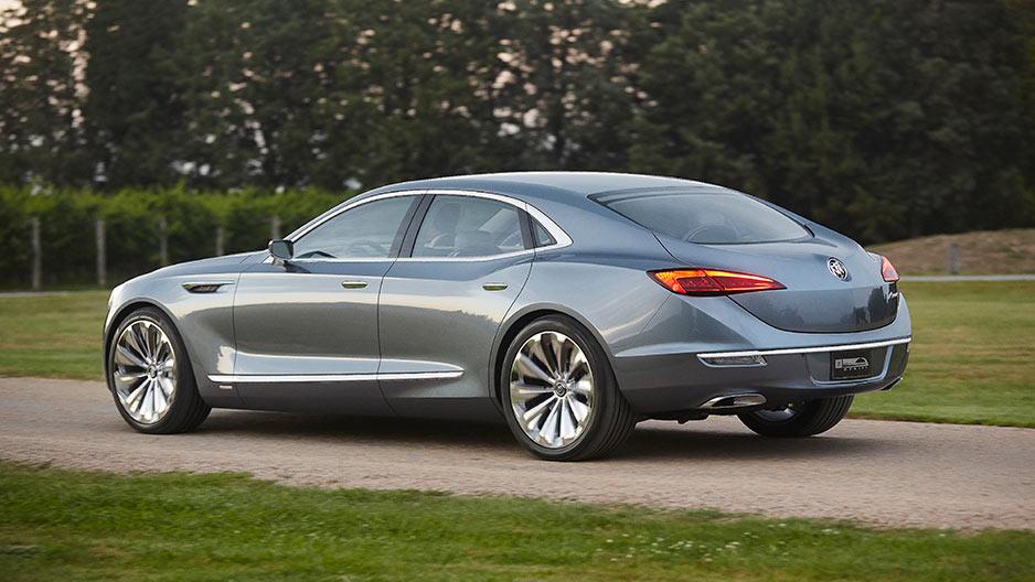 Buick Avenir concept car 2016