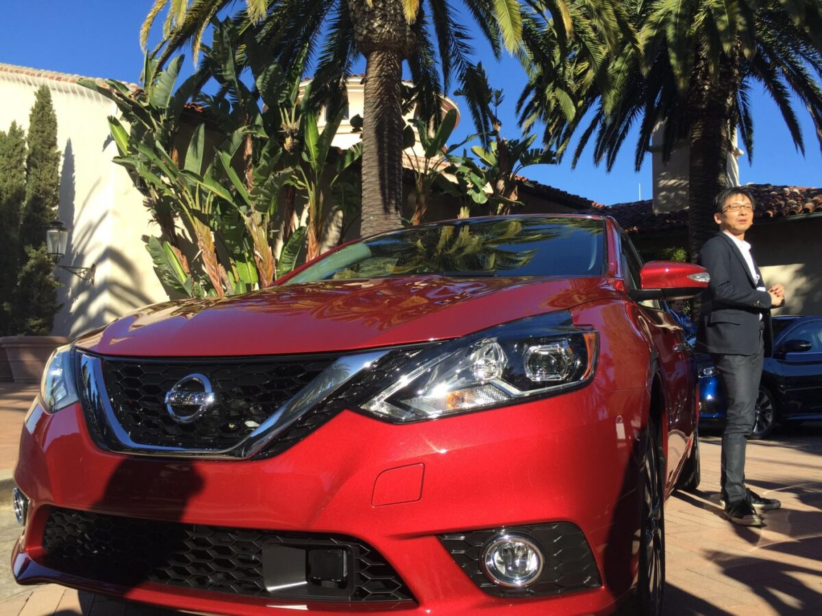 2016 Nissan Sentra at Resort at Pelican Hill