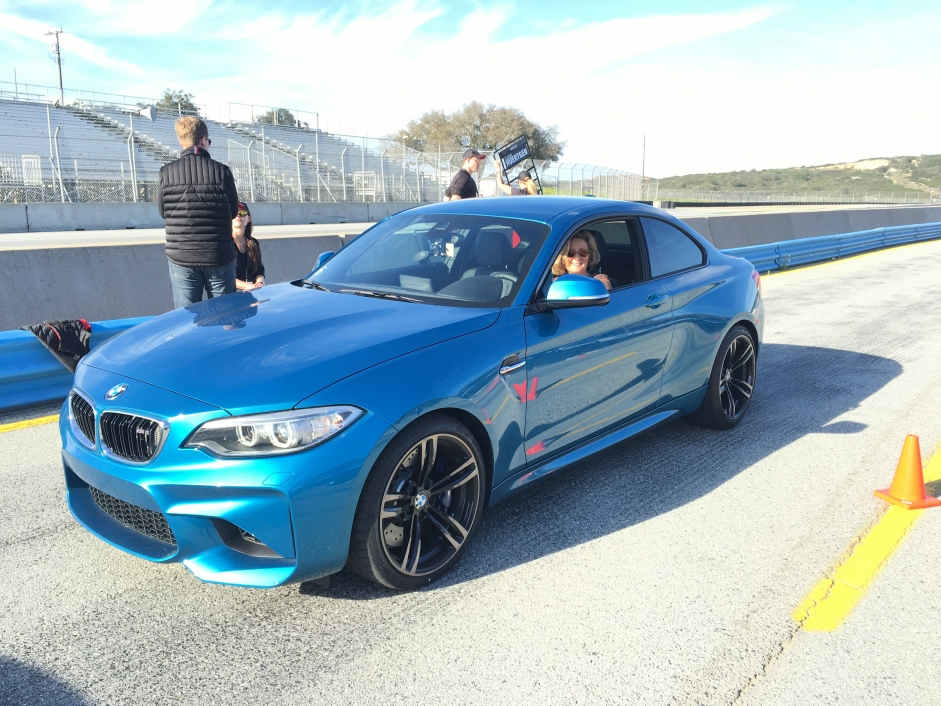 Kicking it up a notch with Bill Auberlen in a BMW M2 around Laguna Seca