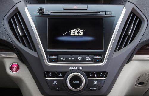 ELS Studio Premium Audio System In Next-Generation Acura NSX Supercar at the CES2016