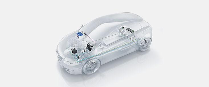 Bosch, electrification, powertrain, mobility, naias16, hybrids, electric cars