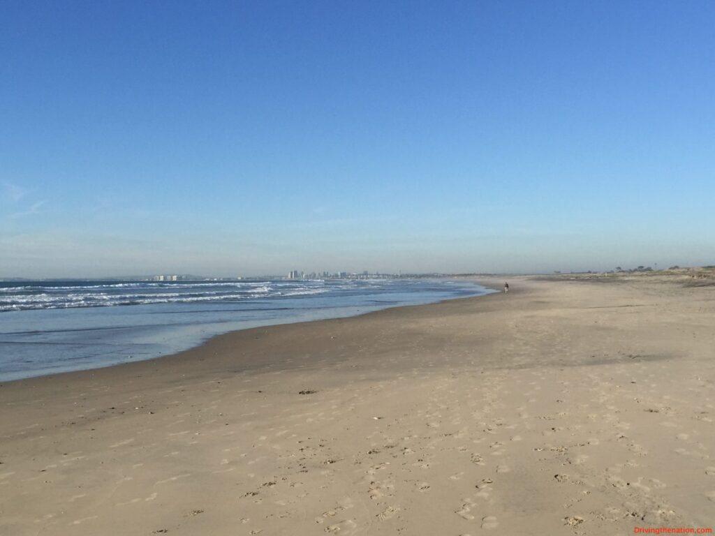 Imperial Beach in a 2017 Hyundai Elantra the silver strand