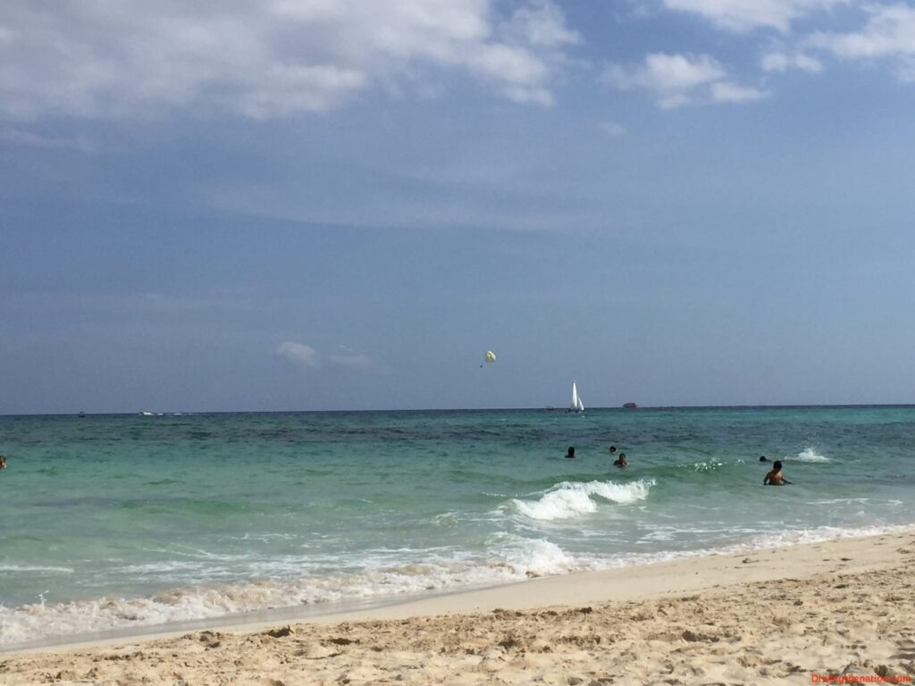 A perfect day in Playa Del Carmen, Mexico