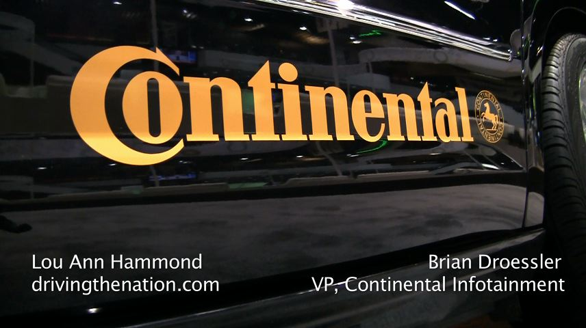 Continental AG's infotainment for cars