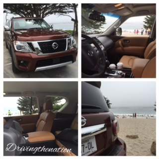 California fires, Nissan, correcting the carchat Nissan Armada