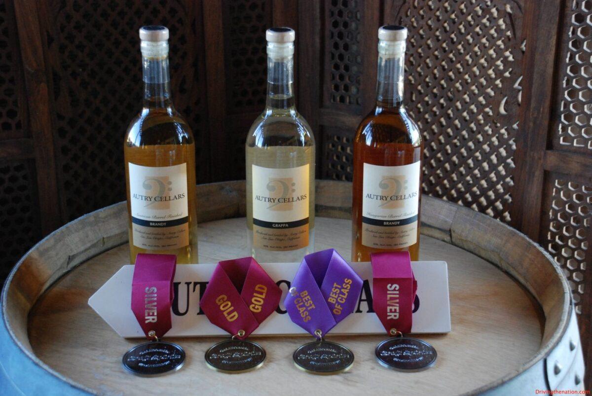 Autry awards artisan winery