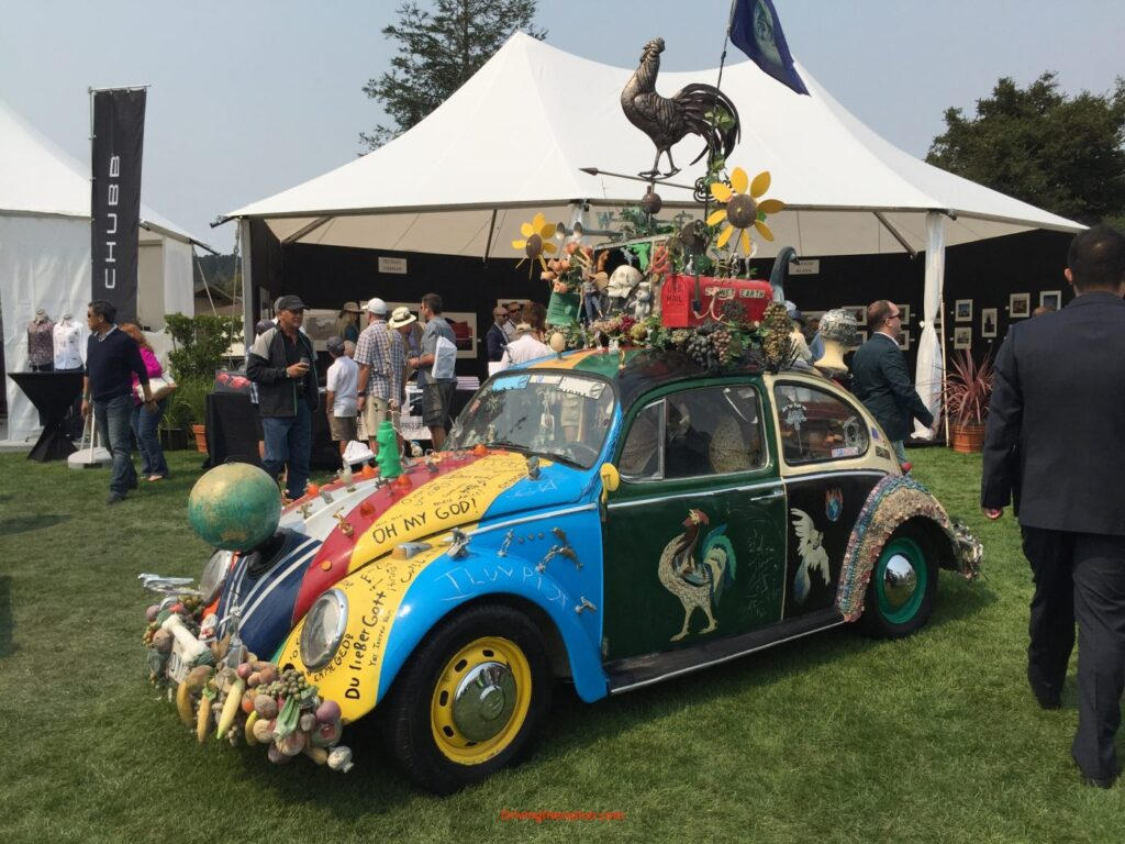 Hood ornaments at Quail Lodge 2016 Pebble Beach Concours d'Elegance