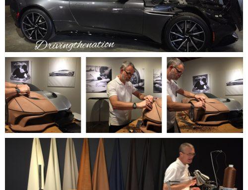 Aston Martin DB11 car designers