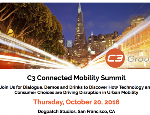 C3 Connected Mobility Summit #Periscope streams