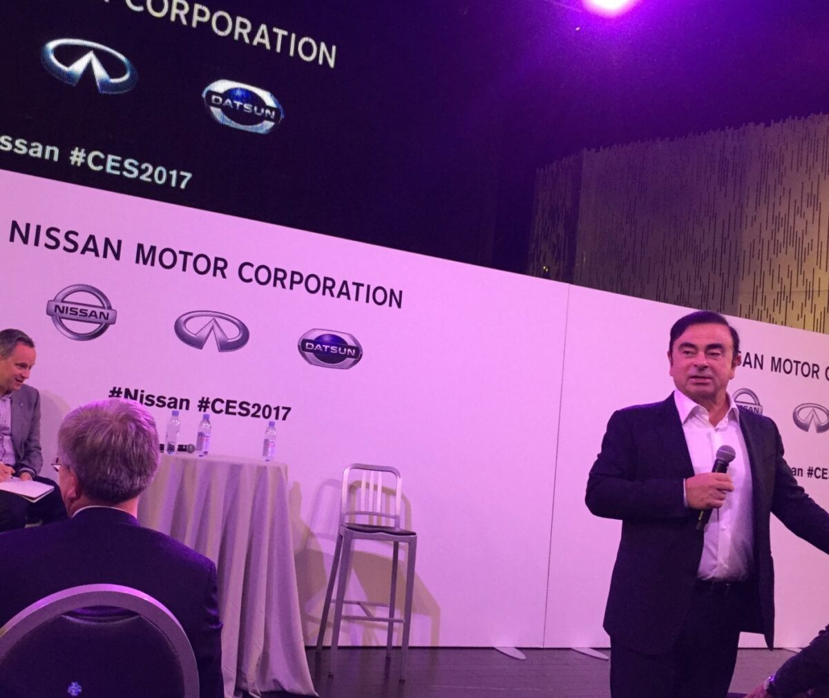 Nissan Infiniti CEO Carlos Ghosn