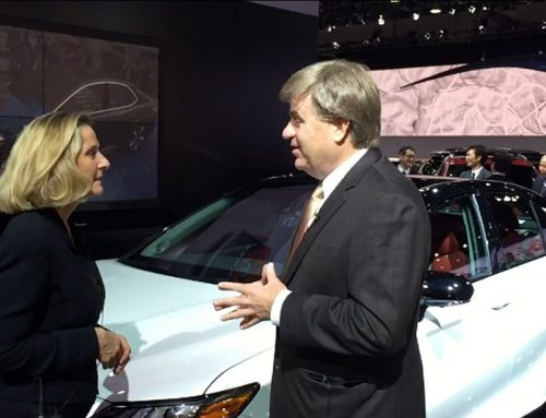 Toyota President on Made in America NAIAS2017
