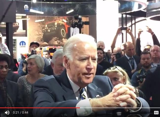 Vice President Joe Biden at #naias2017