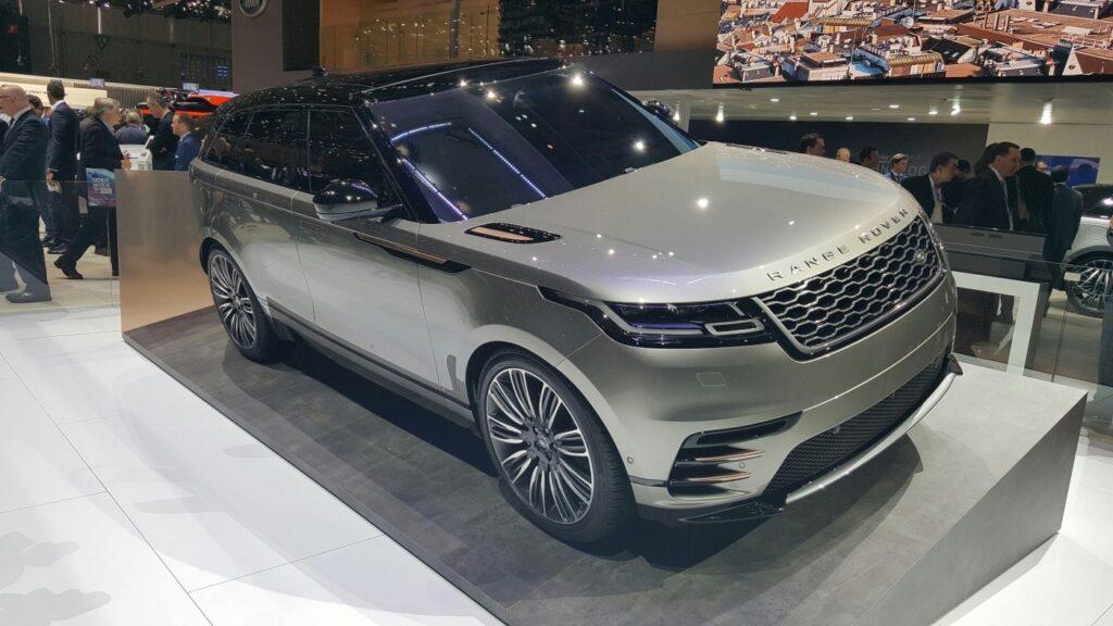 Range Rover Velar SUV Fabulous product. Suddenly makes the rest of the range a little dated courtesy Ian Beavis