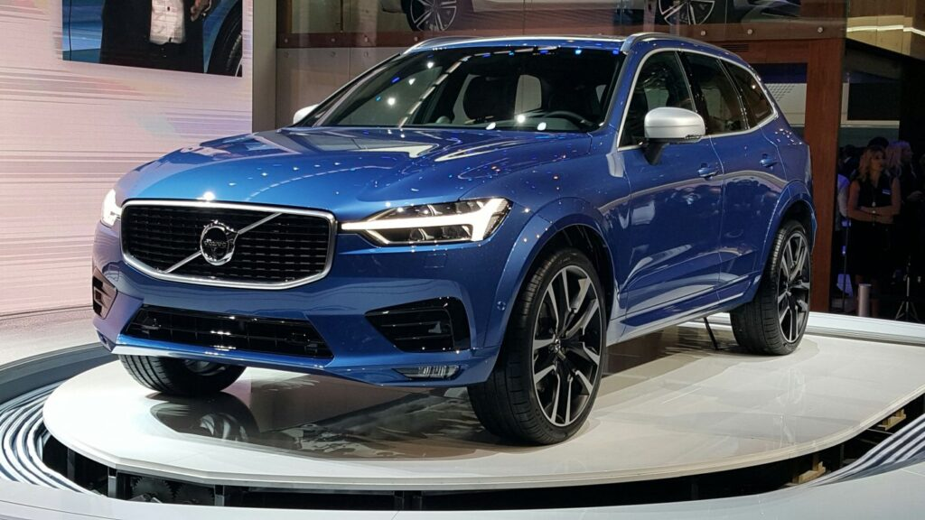 2018 Volvo XC60 premium crossover An all new version of their biggest seller. Wonderfully executed. Should be a,big hit courtesy Ian Beavis