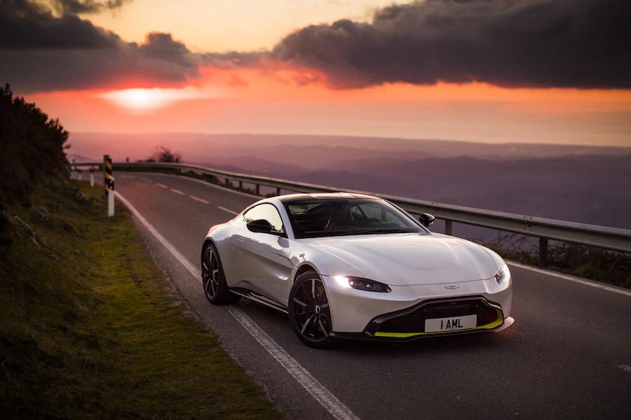 Aston Martin Vantage Holly Reich Dream Car Women's World Car of the Year WWCOTY