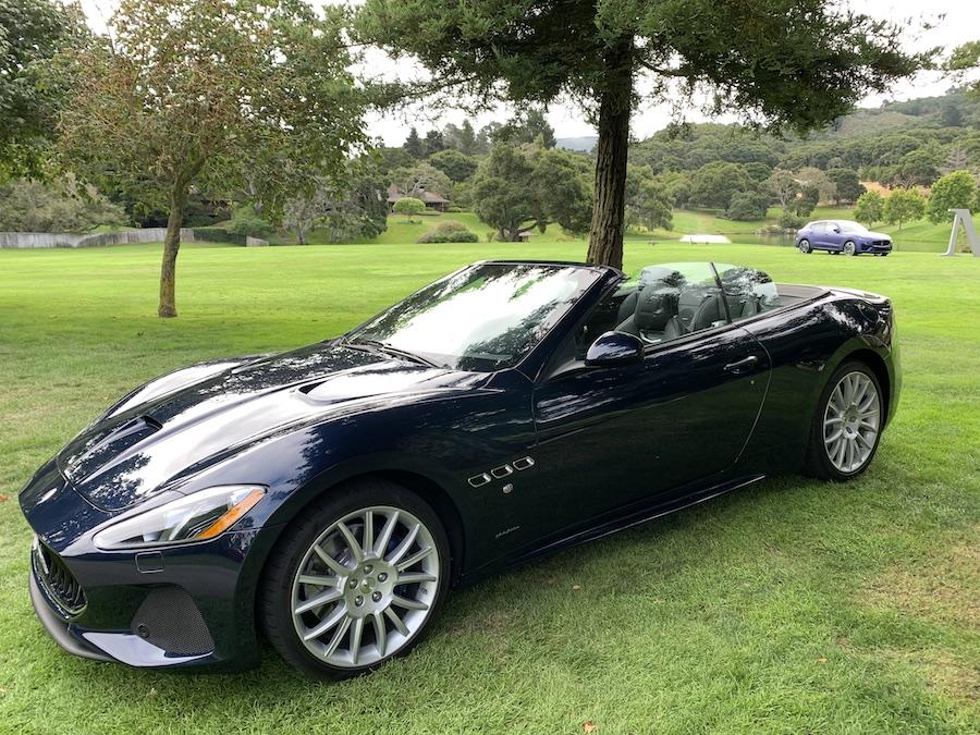 2019 Maserati gran turismo convertible sport