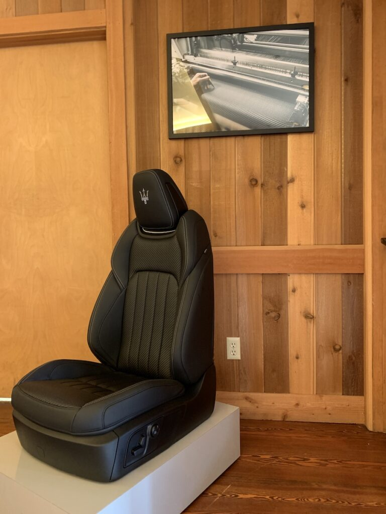 2019 Maserati seats that are so comfortable