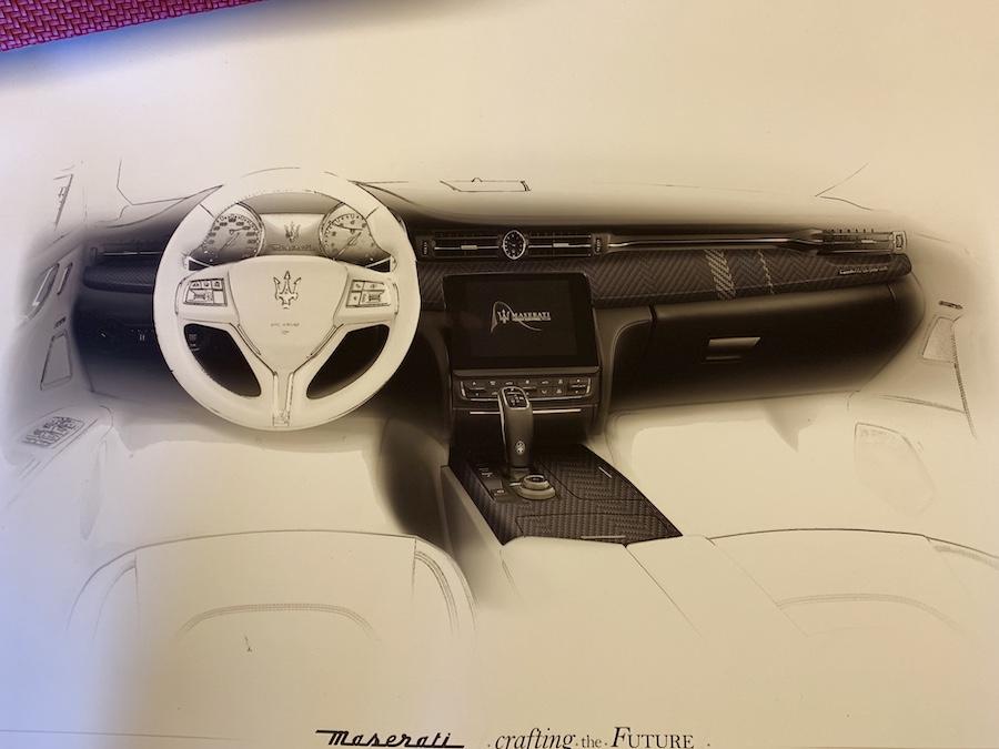 2019 Maserati trident