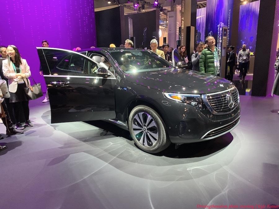 CES 2020 Mercedes-Benz