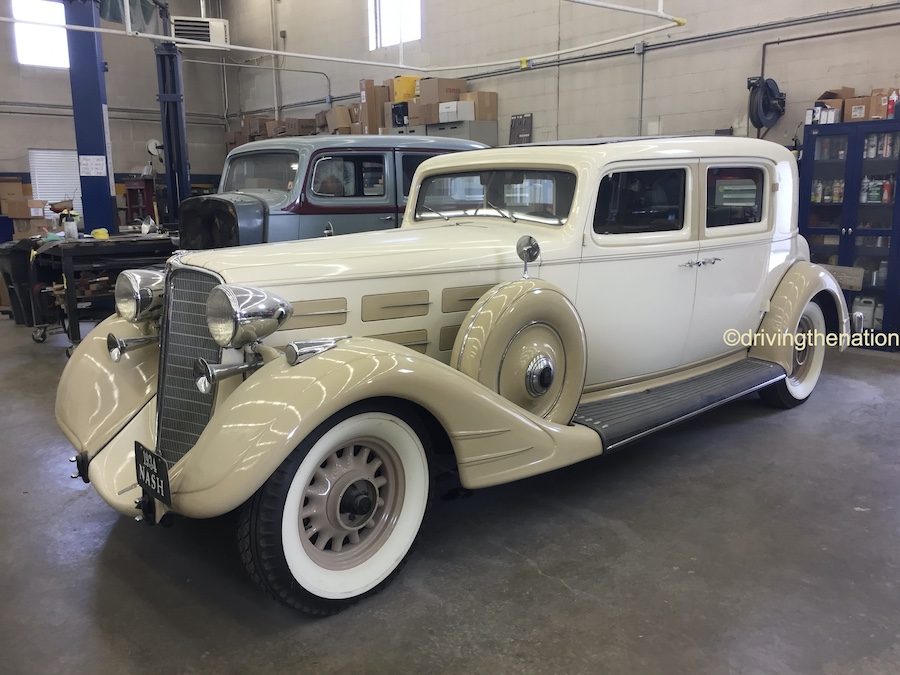 The NB Center for American Automotive Heritage 1934 Nash