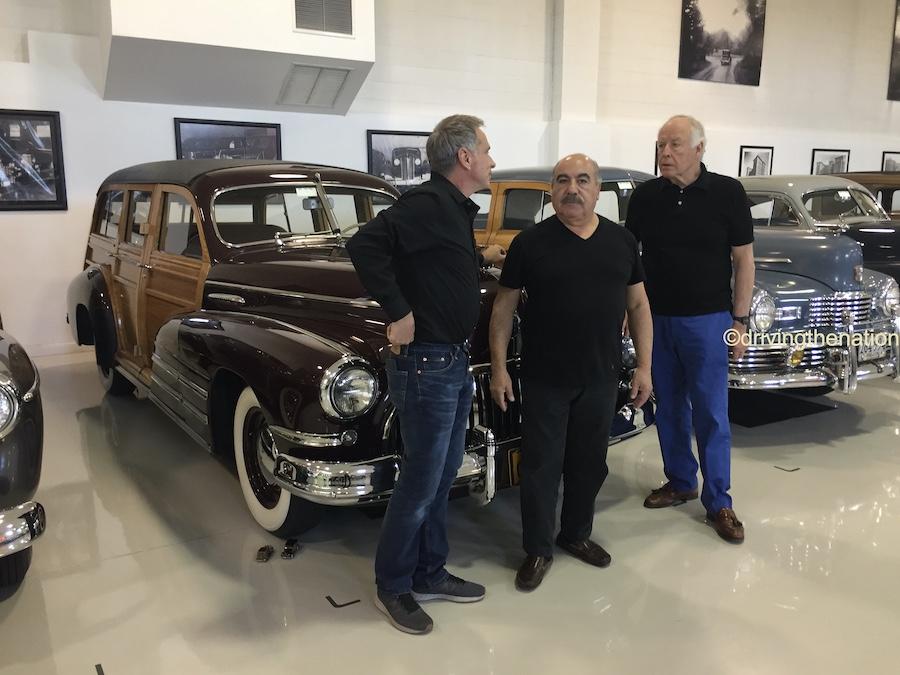 The NB Center for American Automotive Heritage Kris Flickinger, Alfredo Mercado, Nicola Bulgari