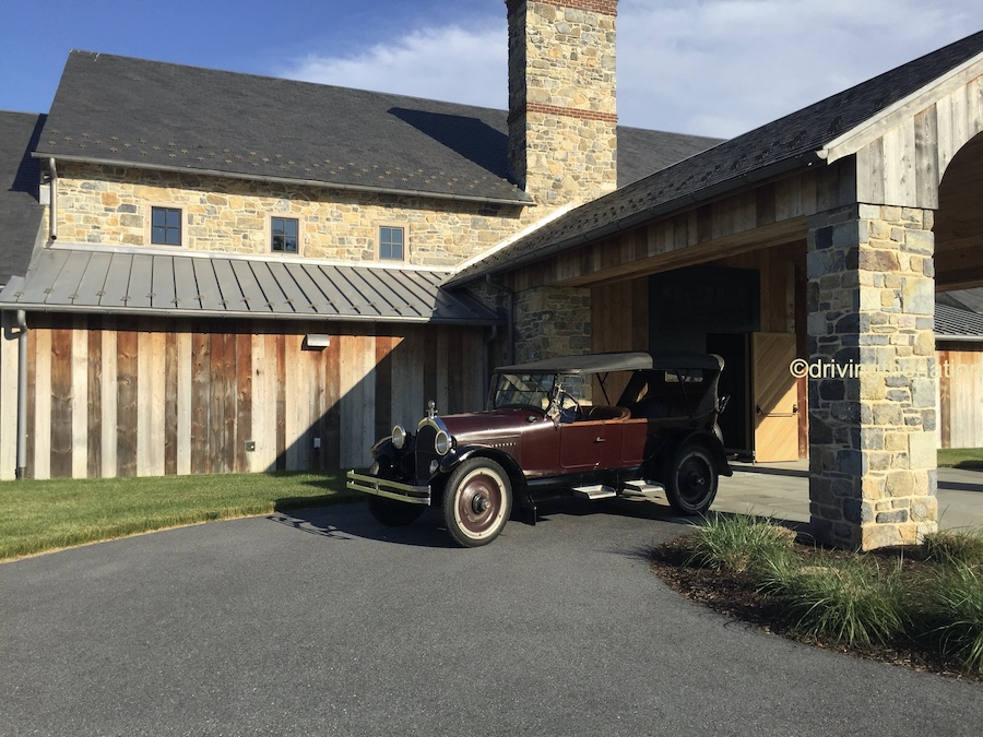 The NB Center for American Automotive Heritage Nicola Bulgari conference house made from old wood