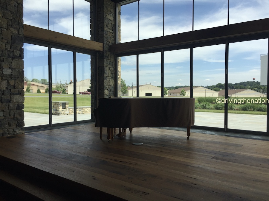 The NB Center for American Automotive Heritage Steinway in the conference house
