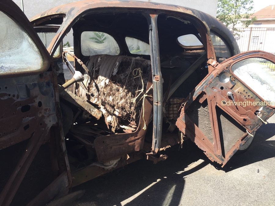 The NB Center for American Automotive Heritage waiting to be restored