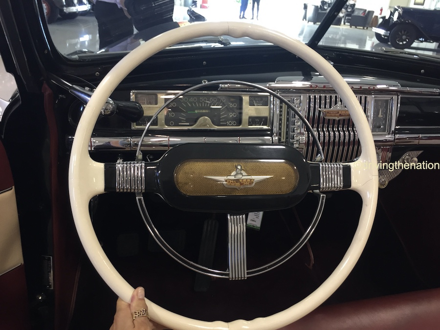 The NB Center for American Automotive Heritage steering wheel