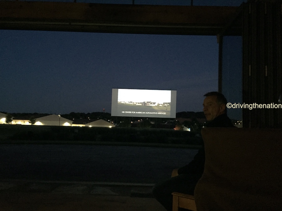 The NB Center for American Automotive Heritage at the drive-in theater