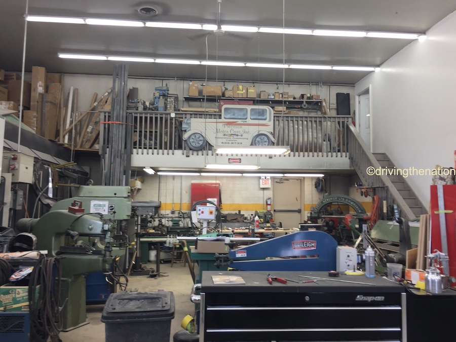 The NB Center for American Automotive garage