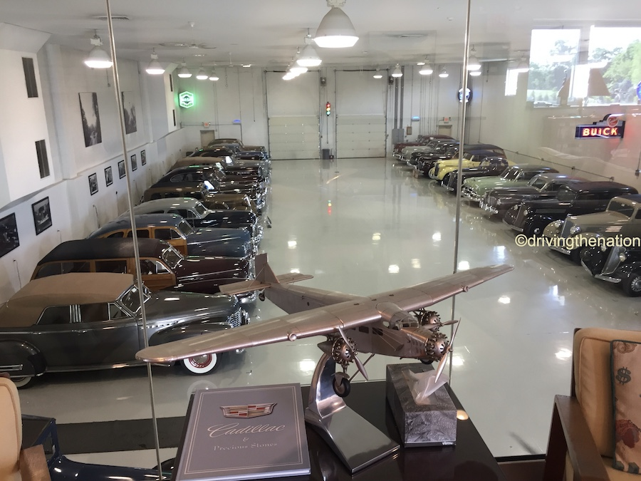 The NB Center for American Automotive heritage another garage full of cars