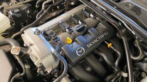 2020 Mazda MX-5 Miata Convertible Roadster engine