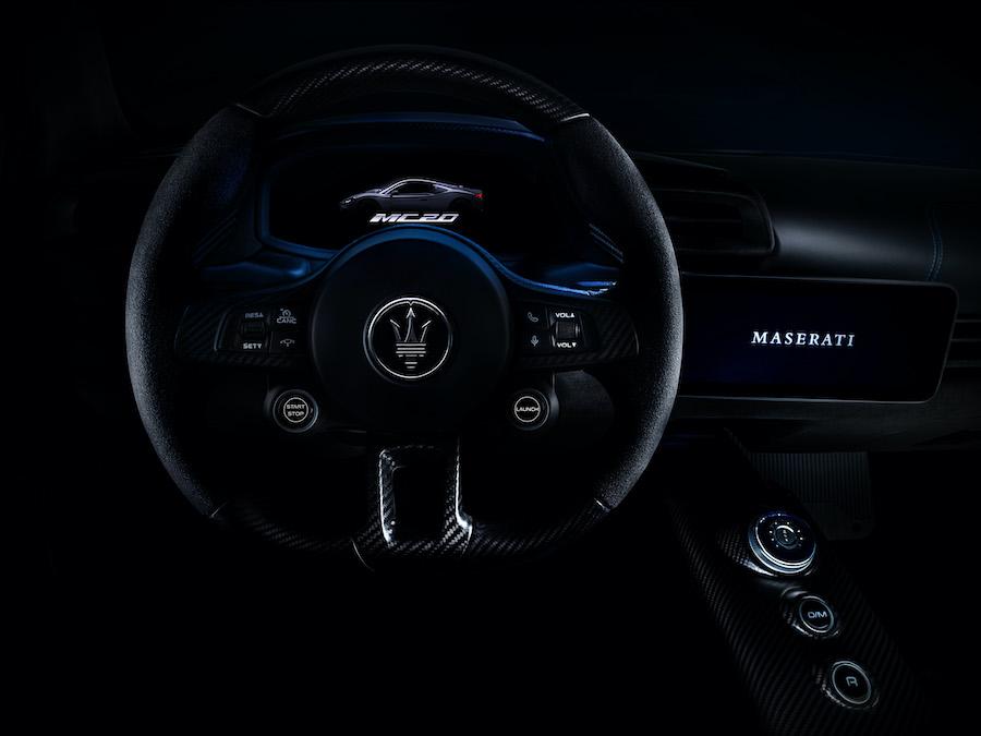 Maserati MC20 designed by Klaus Busse Modena Italy