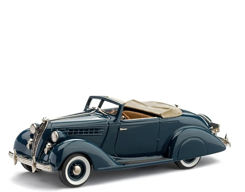 1936 Hudson Terraplane Custom Six Convertible Coupe (Dark Blue) brooklin models