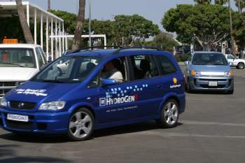 2004 California hydrogen Road Rally CAFCP - hydrogen 3