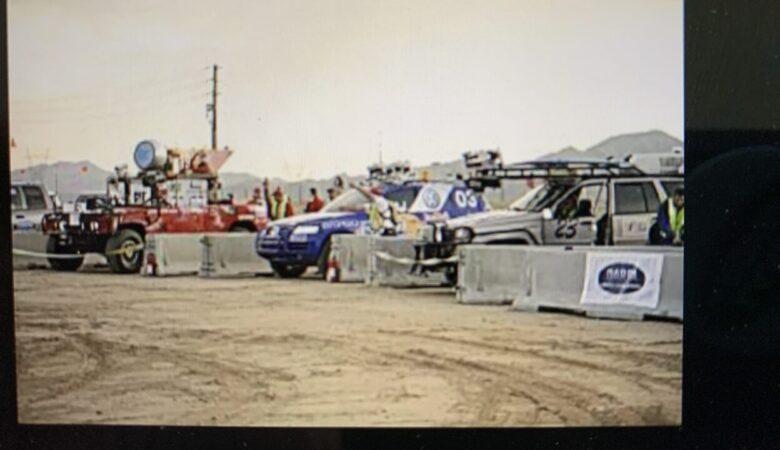 Start of the 2005 DARPA Grand Challenge
