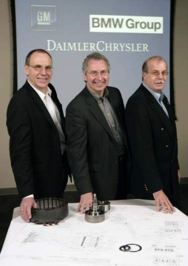 2 mode full hybrid system, General Motors Corp., DaimlerChrysler and the BMW Group