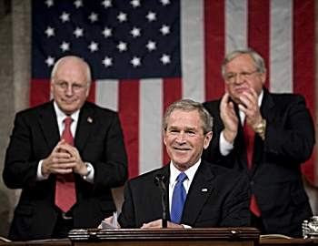 State of the Union George Bush