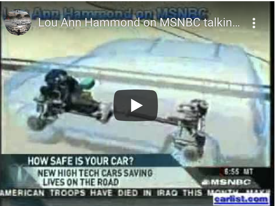 Lou Ann Hammond on MSNBC talking to Alex Witt