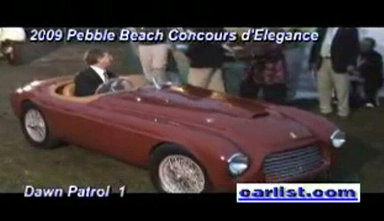 2009 Pebble Beach Concours d'Elegance Dawn Patrol 5