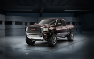 GMC Sierra All-Terrain HD concept, lou ann hammond, drivingthenation.com