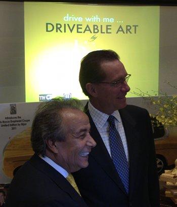 Richard Carter, Rolls Royce, and Bijan bespoke Phantoms on Driving the Nation