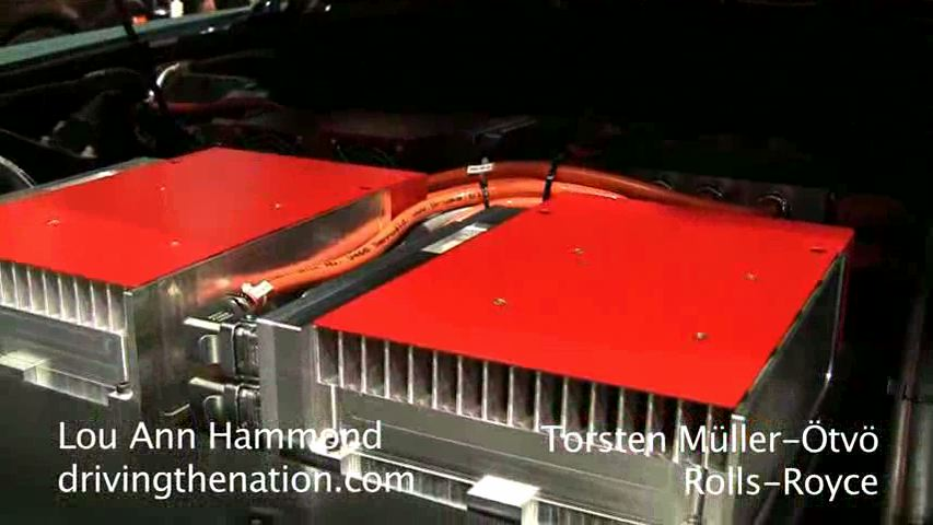 Torsten Muller-Otvos talks Rolls-Royce 102EX concept