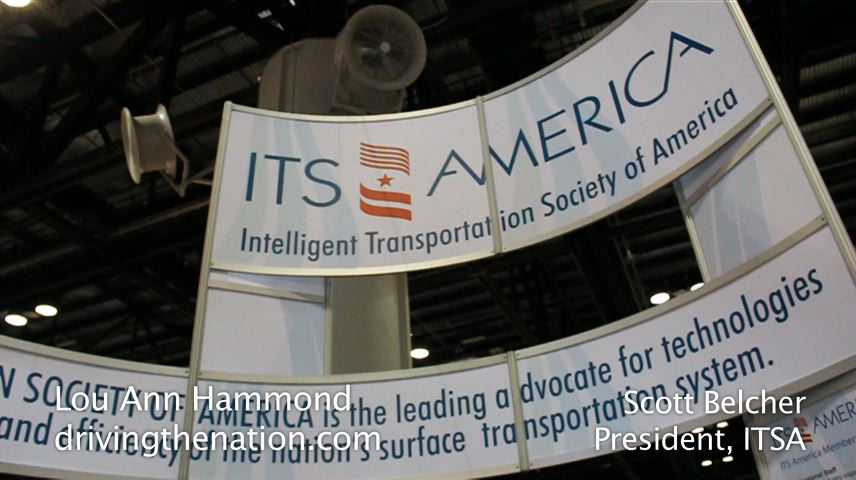 Scott Belcher, Intelligent Transportation Systems America, lou ann hammond, drivingthenation.com